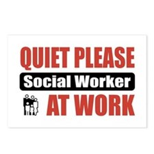 Social Worker Work Postcards (Package of 8)