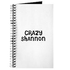 CRAZY SHANNON Journal