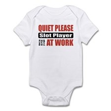 Slot Player Work Infant Bodysuit