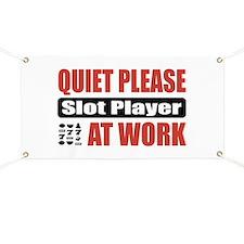 Slot Player Work Banner