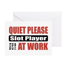 Slot Player Work Greeting Cards (Pk of 20)