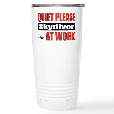 Skydiver Work Stainless Steel Travel Mug