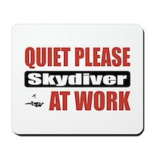 Skydiver Work Mousepad