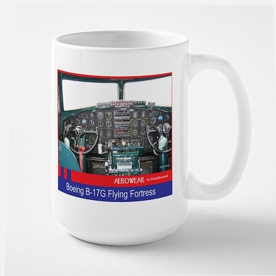 B-17 Front Office Large Mug