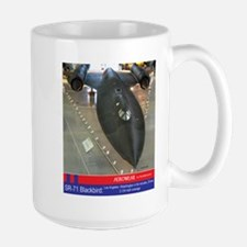SR-71 Blackbird 2000 MPH Large Mug