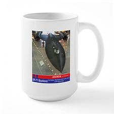 SR-71 Blackbird 2000 MPH Mug