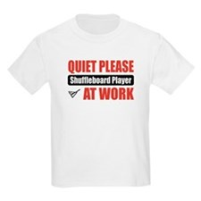 Shuffleboard Player Work T-Shirt