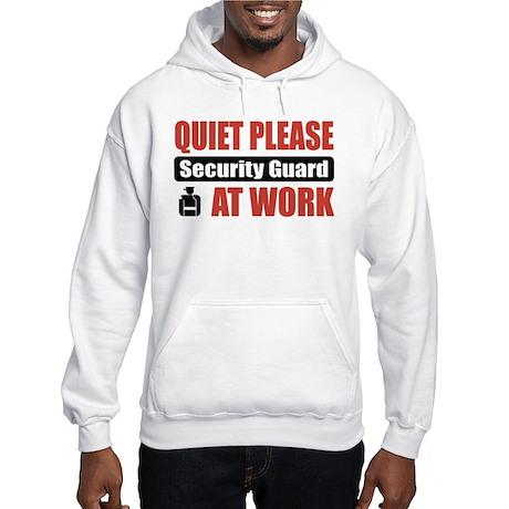 Security Guard Work Hooded Sweatshirt