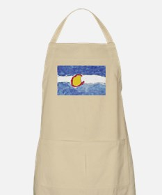 Water Color Painting BBQ Apron