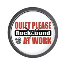 Rockhound Work Wall Clock