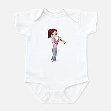 Trumpet Girl Infant Bodysuit