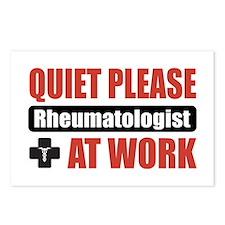 Rheumatologist Work Postcards (Package of 8)