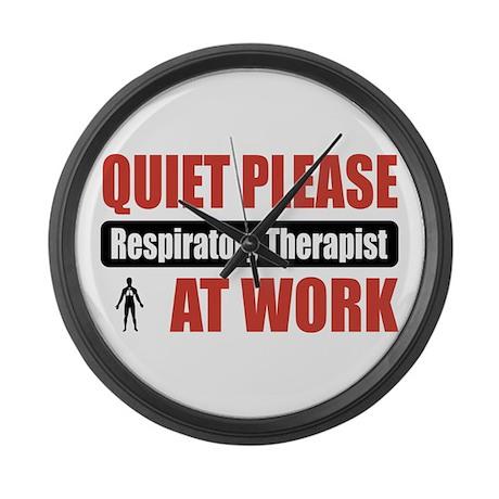 Respiratory Therapist Work Large Wall Clock