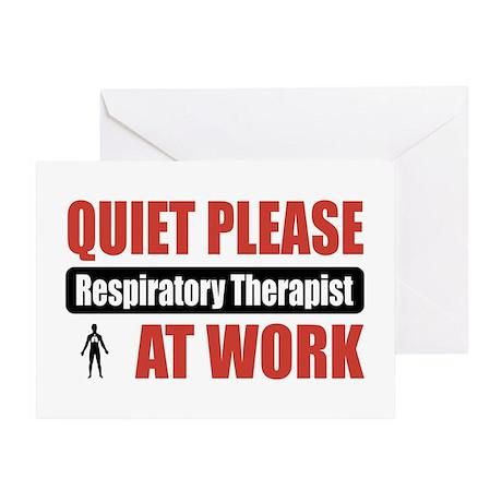 Respiratory Therapist Work Greeting Card