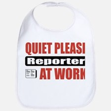 Reporter Work Bib