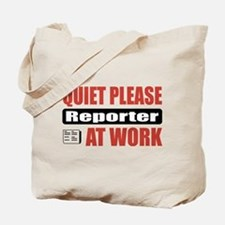 Reporter Work Tote Bag