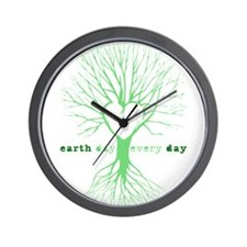 Cute Earthday Wall Clock