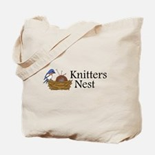Knitters Nest Tote Bag