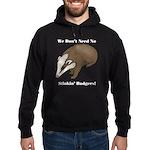 No Stinkin' Badgers 1 Hoodie (dark)