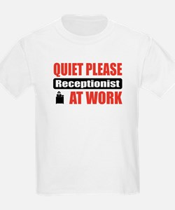 Receptionist Work T-Shirt