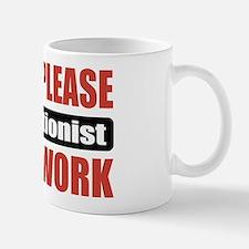 Receptionist Work Mug