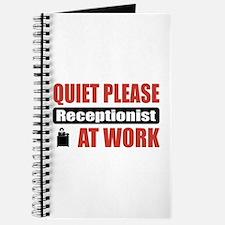 Receptionist Work Journal