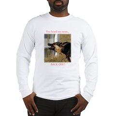 backOff Long Sleeve T-Shirt