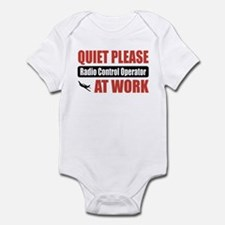 Radio Control Operator Work Infant Bodysuit