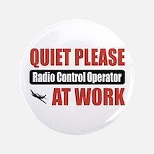 "Radio Control Operator Work 3.5"" Button (100 pack)"