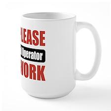 Radio Control Operator Work Mug