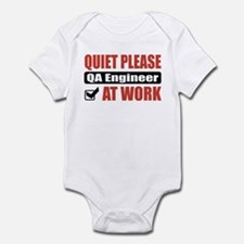 QA Engineer Work Infant Bodysuit