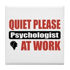 Psychologist Work Tile Coaster