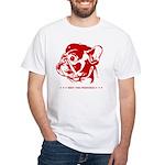 French Bulldog Revolution White T-shirt