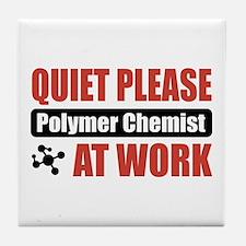 Polymer Chemist Work Tile Coaster