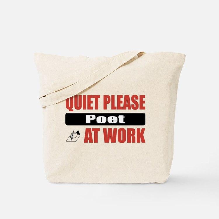 Poet Work Tote Bag