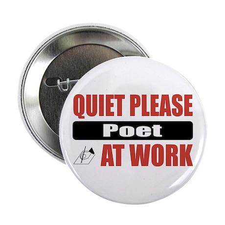 """Poet Work 2.25"""" Button"""