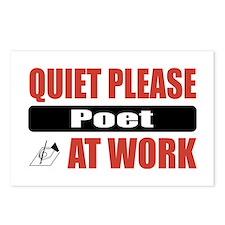 Poet Work Postcards (Package of 8)