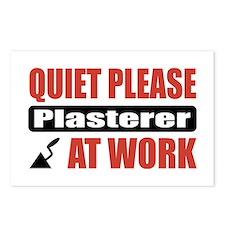Plasterer Work Postcards (Package of 8)