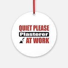 Plasterer Work Ornament (Round)