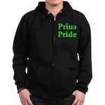 Prius Pride Zip Hoodie (dark)