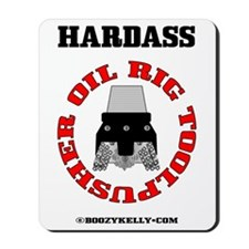 Oil Rig Toolpusher Mousepad,Oil Patch Tool