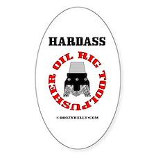Oil Rig Toolpusher Oval Sticker,Rotary Bit,
