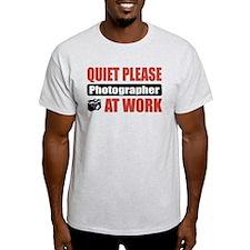 Photographer Work T-Shirt