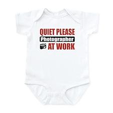 Photographer Work Infant Bodysuit