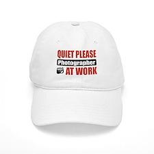 Photographer Work Baseball Cap