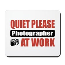 Photographer Work Mousepad