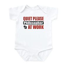 Philosopher Work Infant Bodysuit