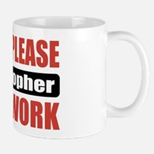 Philosopher Work Mug