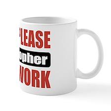 Philosopher Work Small Mug