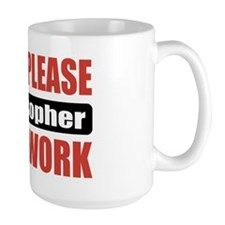 Philosopher Work Mug